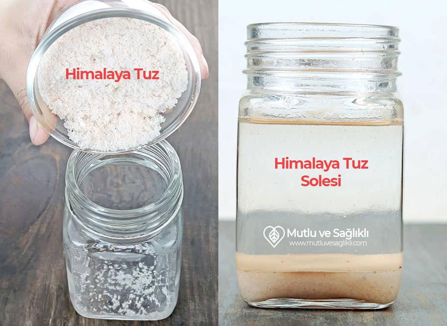 Himalaya Tuz Solesi Nasıl Yapılır?