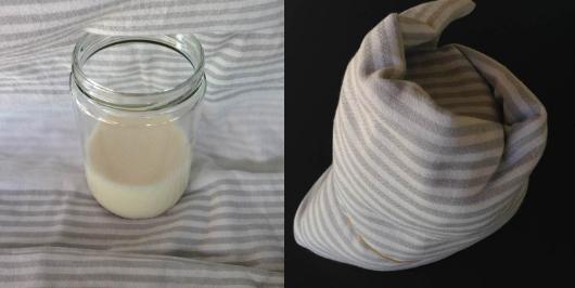 Yoğurt mayası hazırlama 1. aşama