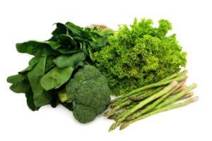 Anti-Inflamatuar Yeşil Sebzeler, borkoli, kuşkonmaz, marul