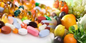 vitamin ve mineral takviyesi