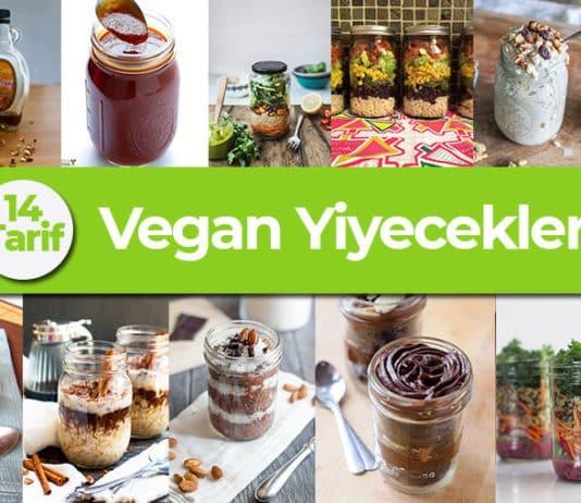 Vegan Yiyecekler: Sağlıklı ve Pratik Yapımlarıyla Kavanozda Vegan Tarifler