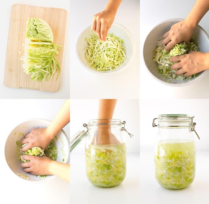 Sauerkraut (Lahana turşusu) yapılışı