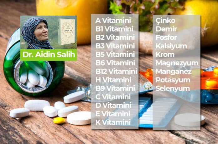 Vitamin ve Mineraller ! Tüm Vitamin ve Minerallerin Faydaları ve Kaynakları