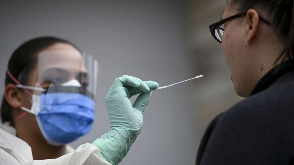 coronavirüs test